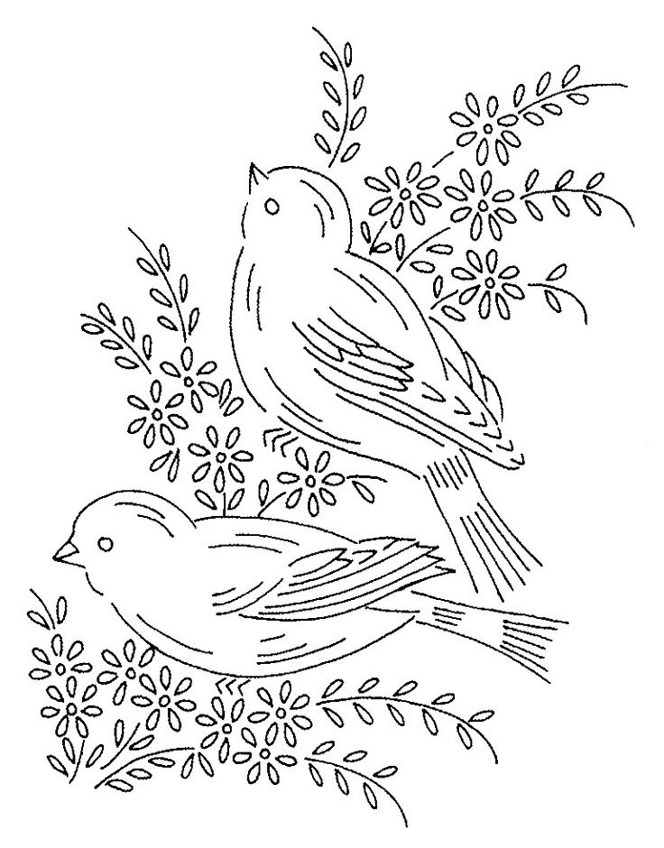 25+ best ideas about Vintage embroidery patterns on