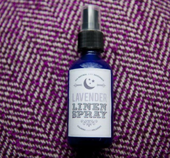 Diy lavender linen spray sprays lavender essential oils