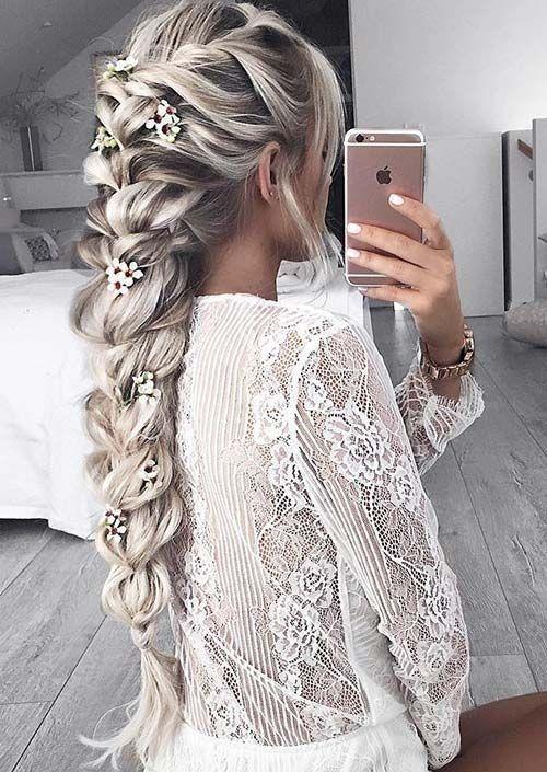 Die Besten 20 Hochsteckfrisuren Lange Haare Ideen Auf Pinterest