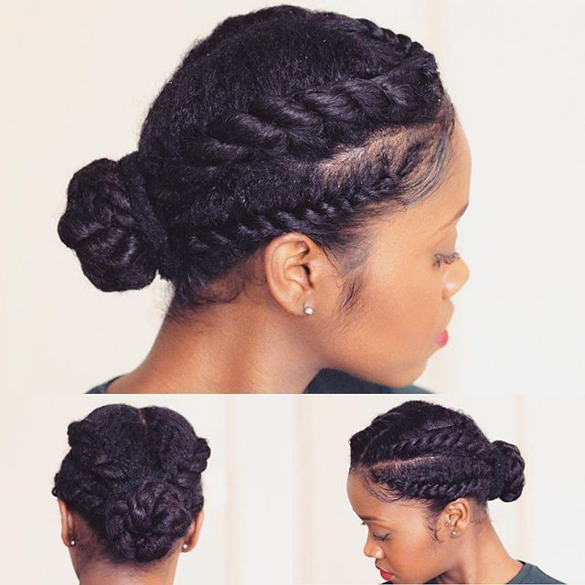 71 Best Images About Protective Hairstyles For Natural