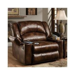 Leather Sectional Sofas With Power Recliners Find Small Scale Amazon.com - Simmons Brown Over Sized Massage ...