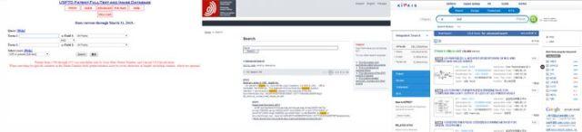 資訊與視覺雜亂的專利檢索平台