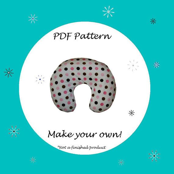Nursing Pillow Cover for Boppy PatternPDF PatternEbook