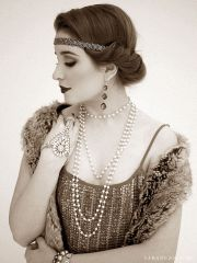 ideas flapper hairstyles