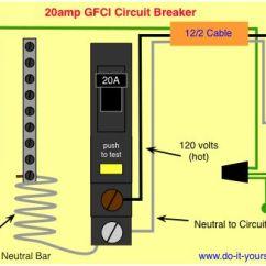 6 Pin Square Trailer Wiring Diagram 2000 Chevy Malibu Engine Gfci Circuit Breaker | Shop Pinterest