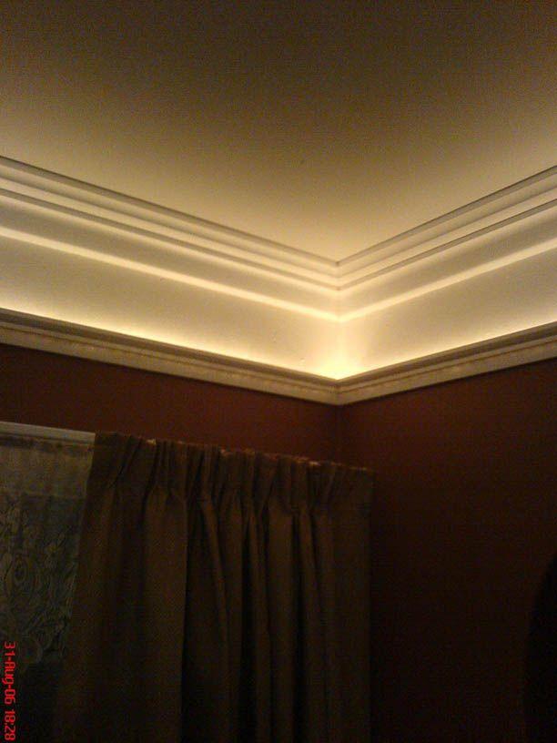 beautiful rope lights in bedroom
