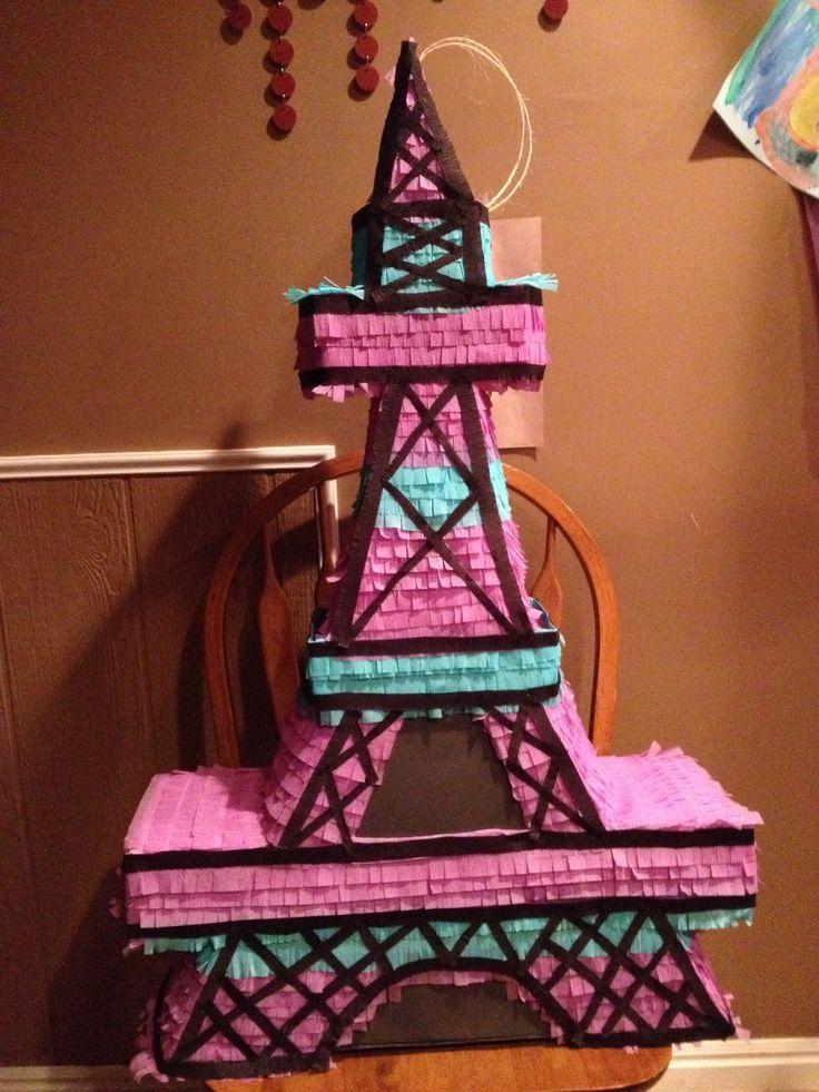 Eiffel Tower piata  Piatas  Pinterest  Towers and