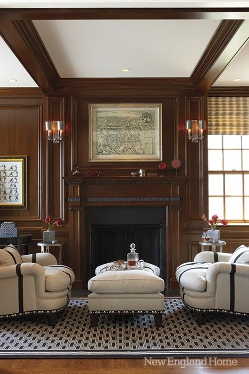 How To Make A Dark Paneled Room Look Fresh  Light