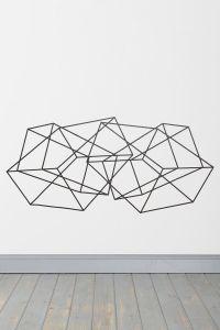 25+ best ideas about Geometric wall art on Pinterest ...
