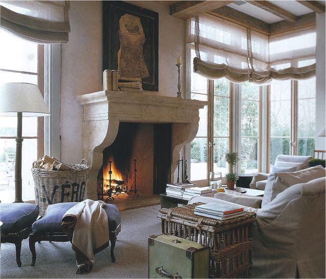 John Saladino Height Light Windows Floor Mantle