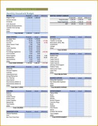 25+ best ideas about Household budget template on ...