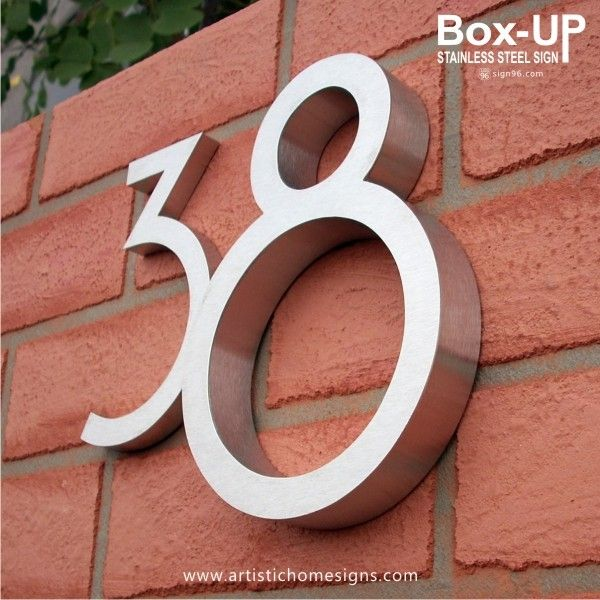 25 Best Ideas About House Number Signs On Pinterest Mancave