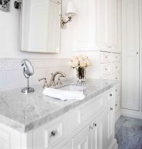 all white bathroom