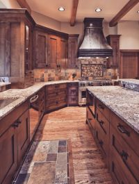 25+ best ideas about Rustic Kitchen Cabinets on Pinterest ...