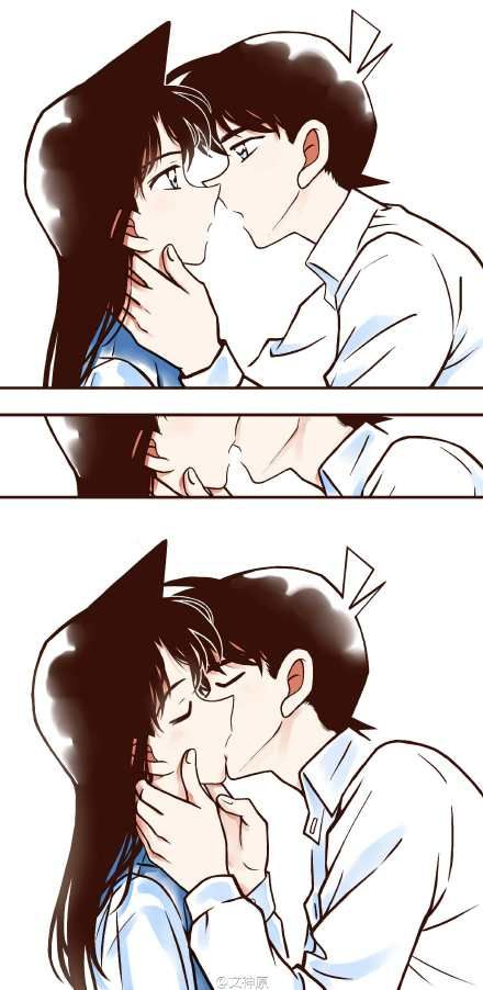 Ran And Shinichi Detective Conan Pinterest Kaito