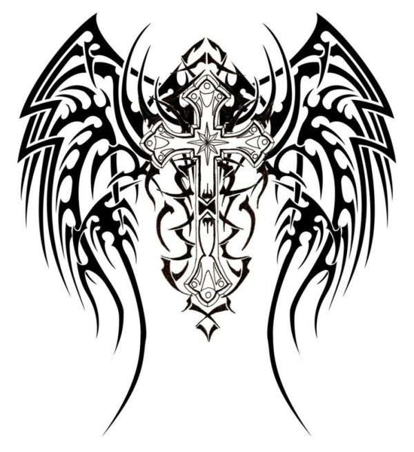 20 Tattoo Coloring Pages Of Crosses Ideas And Designs