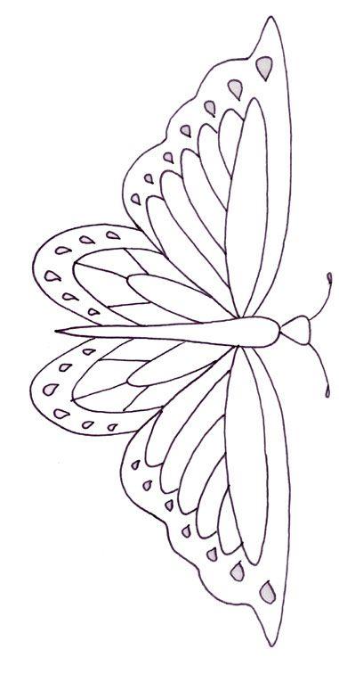 25+ best Butterfly stencil ideas on Pinterest