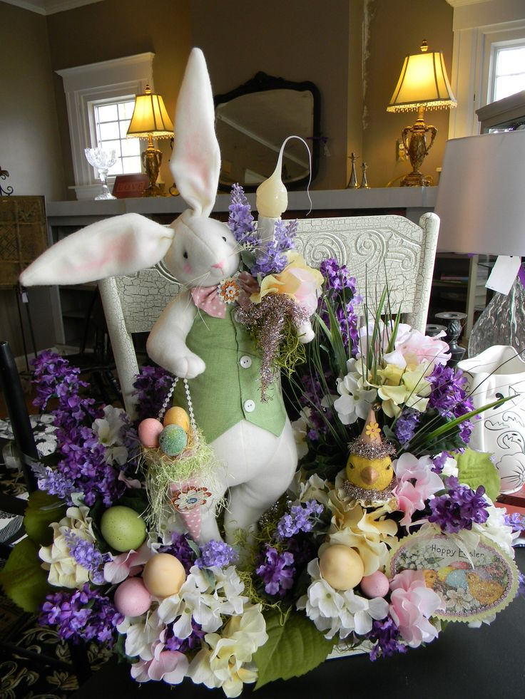 1000 ideas about Easter Centerpiece on Pinterest  Easter