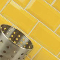 25+ best Yellow tile ideas on Pinterest