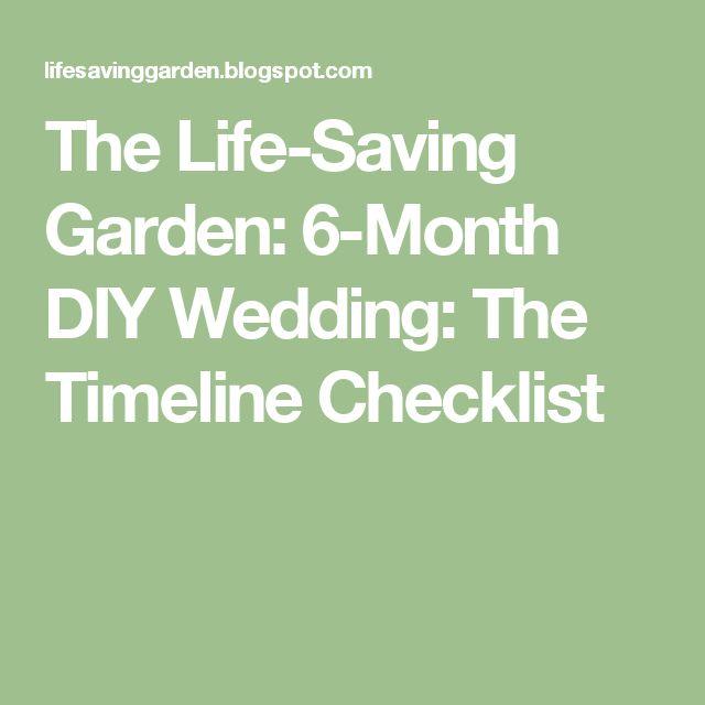 17 Best ideas about Wedding Checklist Timeline on Pinterest  Wedding planning checklist