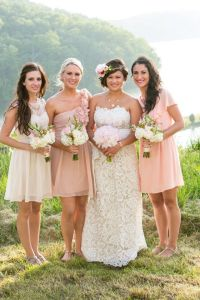 17 Best images about Wedding-in peach, yellow, whites on ...