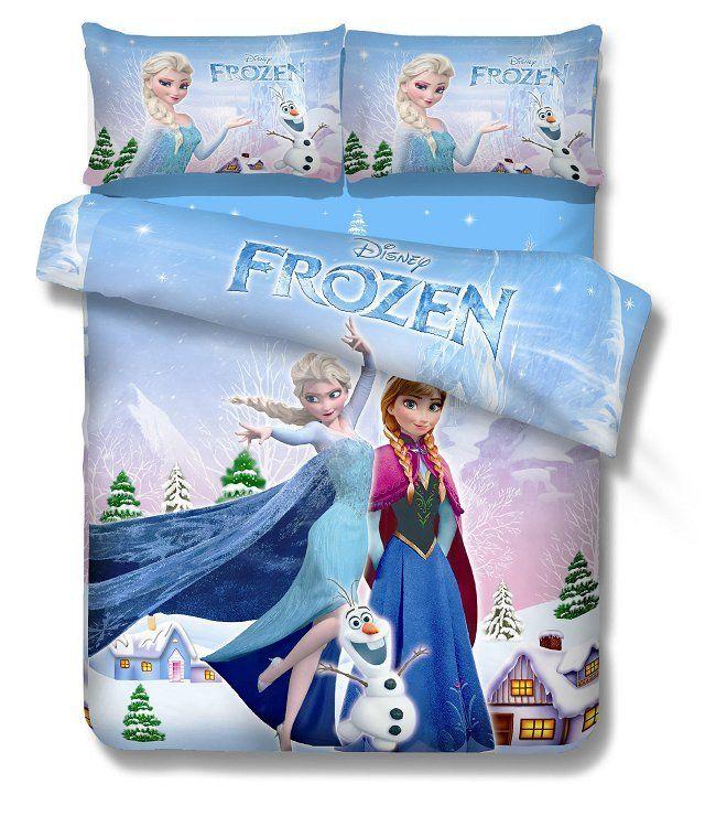 1000 ideas about Frozen Bedding on Pinterest  Bedding sets Frozen bedroom and Disney frozen