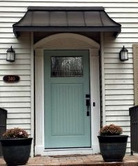 17 Best ideas about Front Door Awning on Pinterest | Metal ...