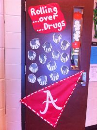 Red Ribbon Week Door Decorating Inspiration! Enter your
