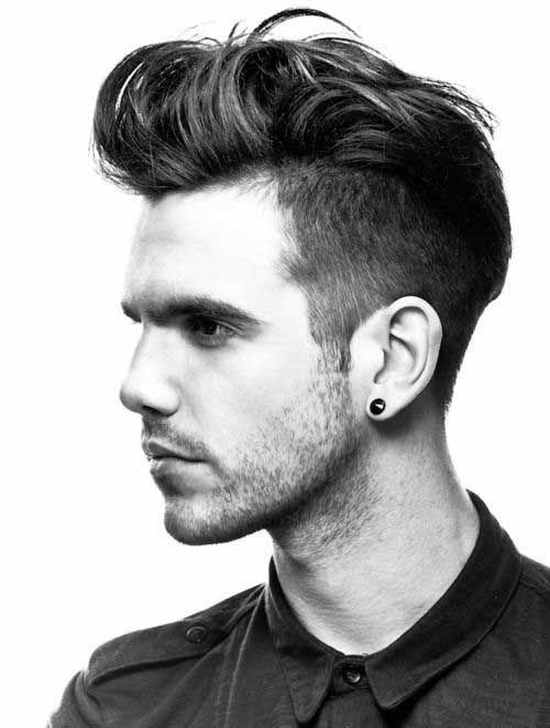Flip Hairstyle For Men Flip Hair Trend 2017