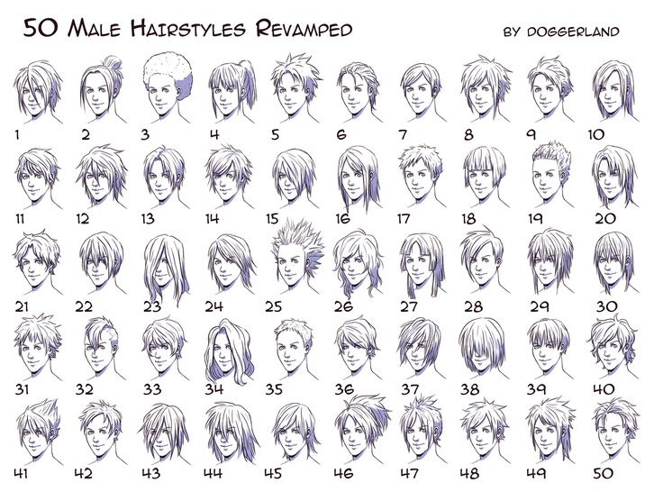 25 Best Ideas About Anime Hairstyles Male On Pinterest Anime