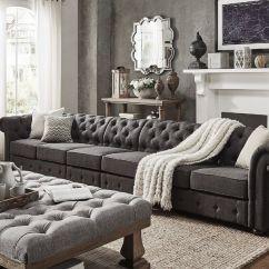 Harper Fabric 6 Piece Modular Sectional Sofa Blue Modern 1000+ Ideas About On Pinterest ...
