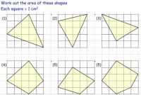 Compound Area worksheets | Areas of irregular shapes on ...