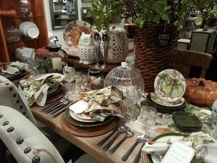 1000+ Images About BNOTP: Fall Table Settings (Tablescapes