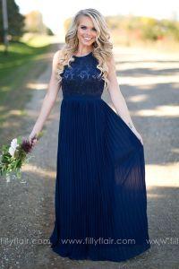 17 Best ideas about Navy Bridesmaid Dresses on Pinterest ...