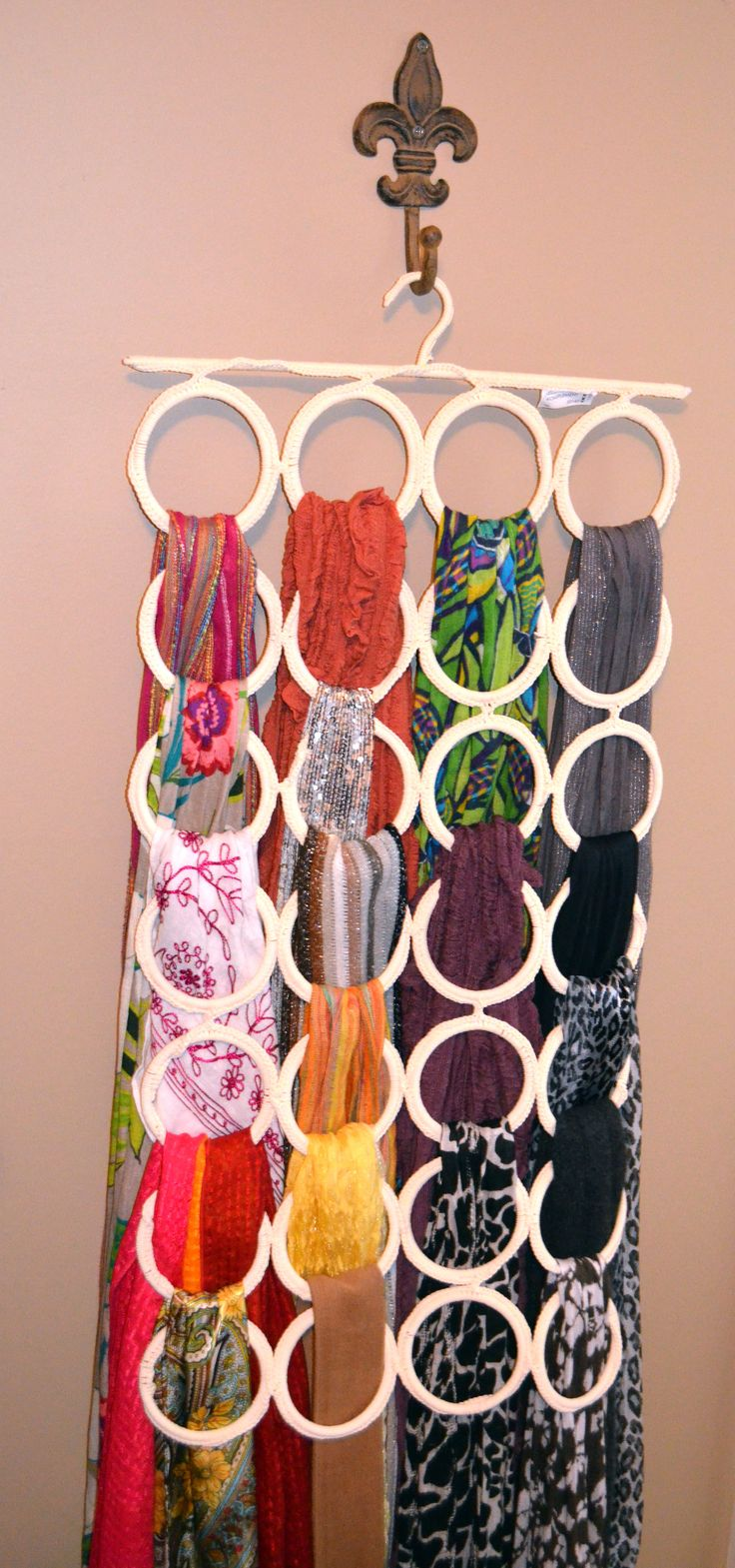 25+ best ideas about Scarf hanger on Pinterest