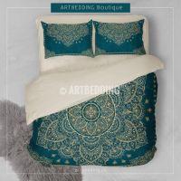 241 best Bohemian bedroom decor, Mandala design bedding ...
