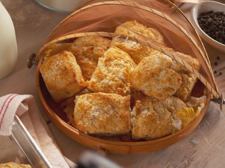 Salt And Pepper Biscuits With Bacon Butter Recipe