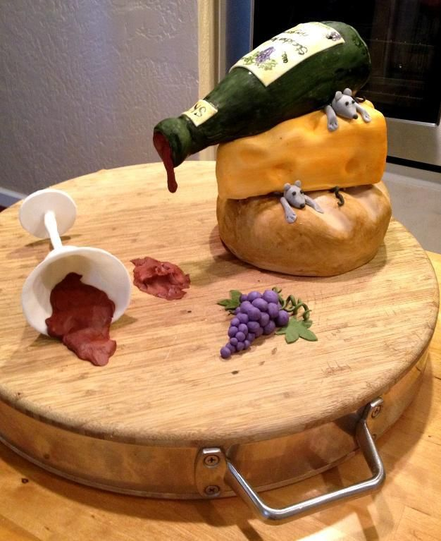 Wine Themed Cakes Have Your Cake And Drink Your Wine Too