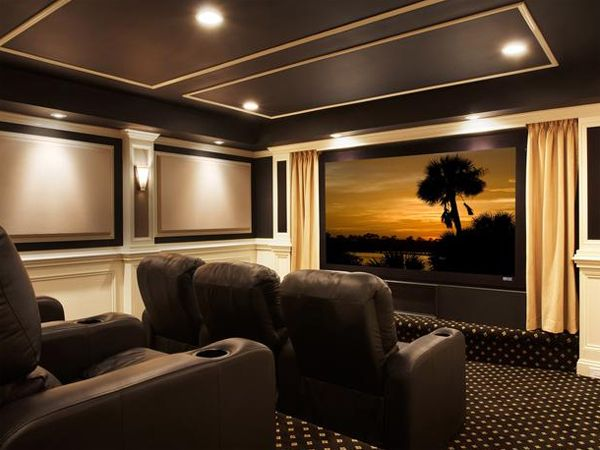267 Best Images About Home Theater Design On Pinterest Home