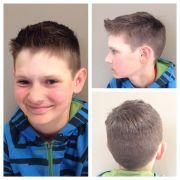haircut boys with cowlicks
