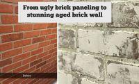 25+ best ideas about Faux brick panels on Pinterest | Faux ...