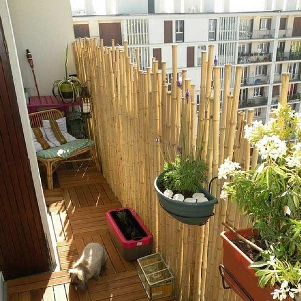 Sichtschutz Selber Bauen Bambus Bambus Als Balkon Sichtschutz U ... Balkon Sichtschutz Selber Machen