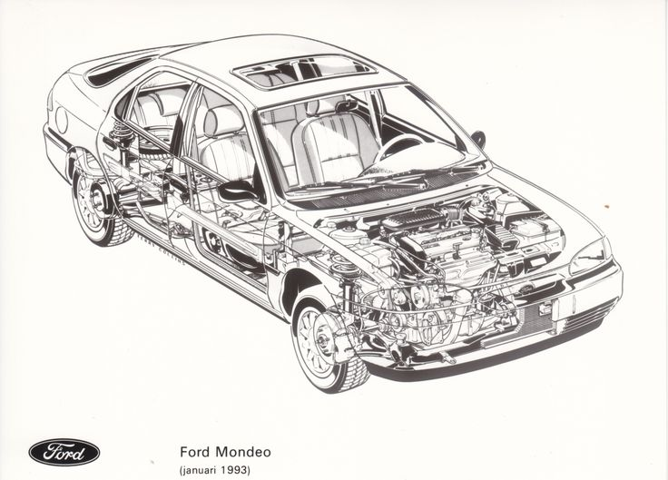 The 7 best images about Ford Mondeo Mk1 on Pinterest