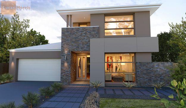 windows various facade materials  Duplex facades  Pinterest  Modern Modern houses and Window