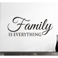 Family Is Everything Vinyl Wall Decal Removable Decal