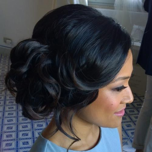 25 Best Ideas About Black Wedding Hairstyles On Pinterest Black