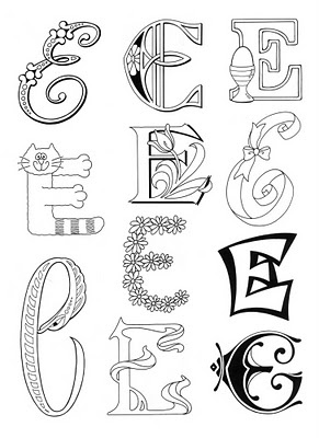 86 best images about illuminated letters on Pinterest