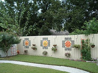 25 Best Ideas About Decorative Garden Fencing On Pinterest
