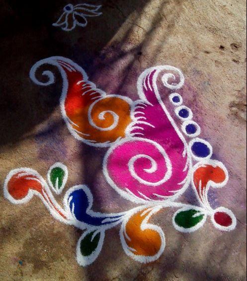 25 Best Ideas About Simple Rangoli On Pinterest Designs Rangoli