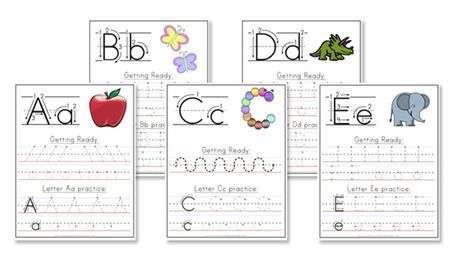 25+ best ideas about Handwriting Worksheets on Pinterest
